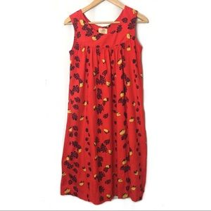 Vintage 60's Ui-Maikai Dress Hawaiian Floral